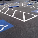 Handicap Stalls at Centinneal Shopping Center