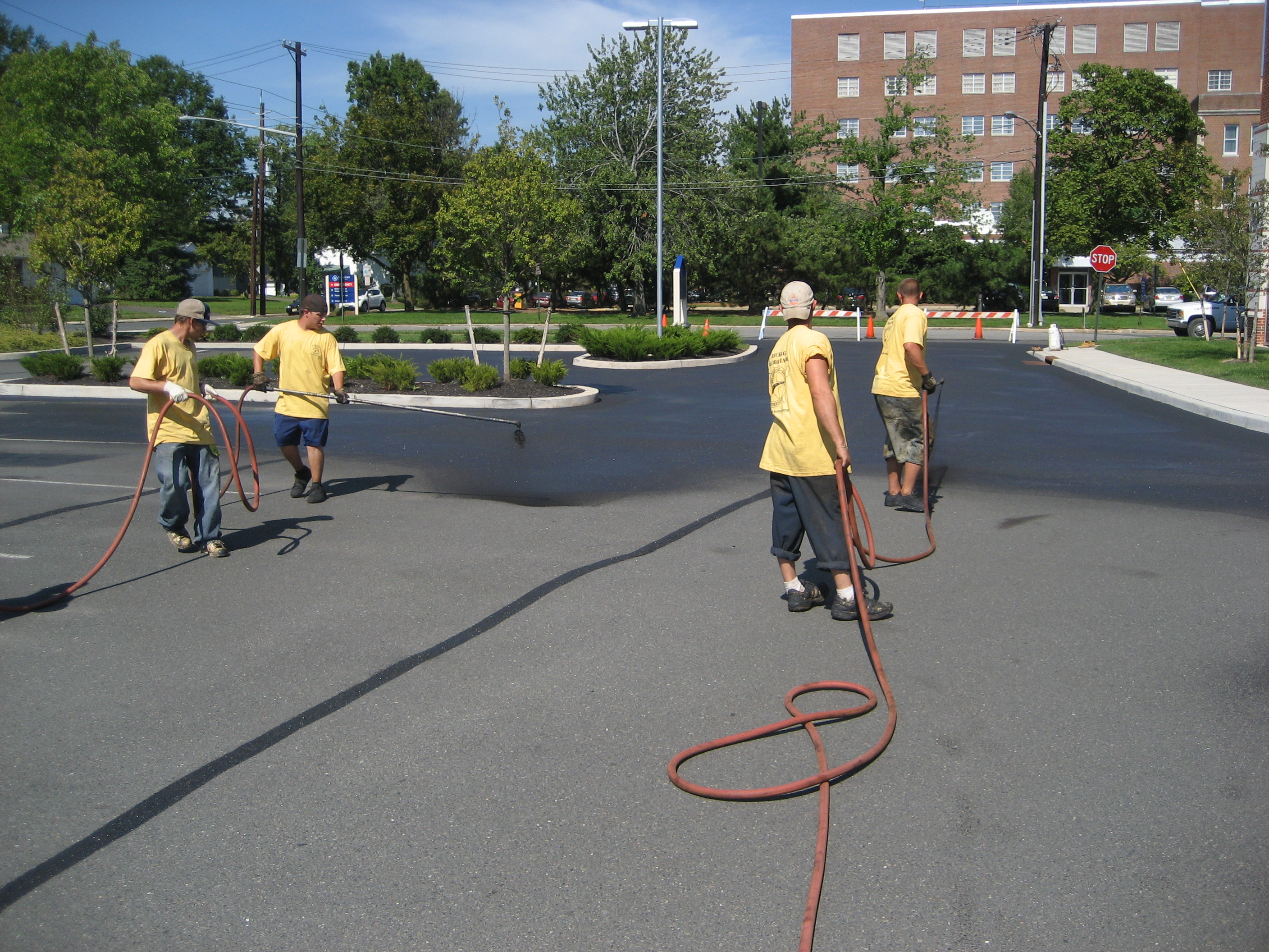 Can sealcoat make the pavement slippery when applied Affordable